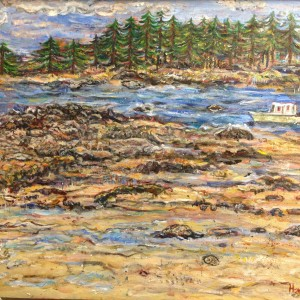 Maine Coast - Acrylic - $200