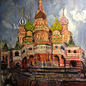 Saint Basil - Oil - $600