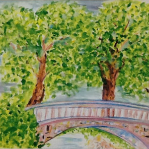 Arch Impass - Watercolor - $70